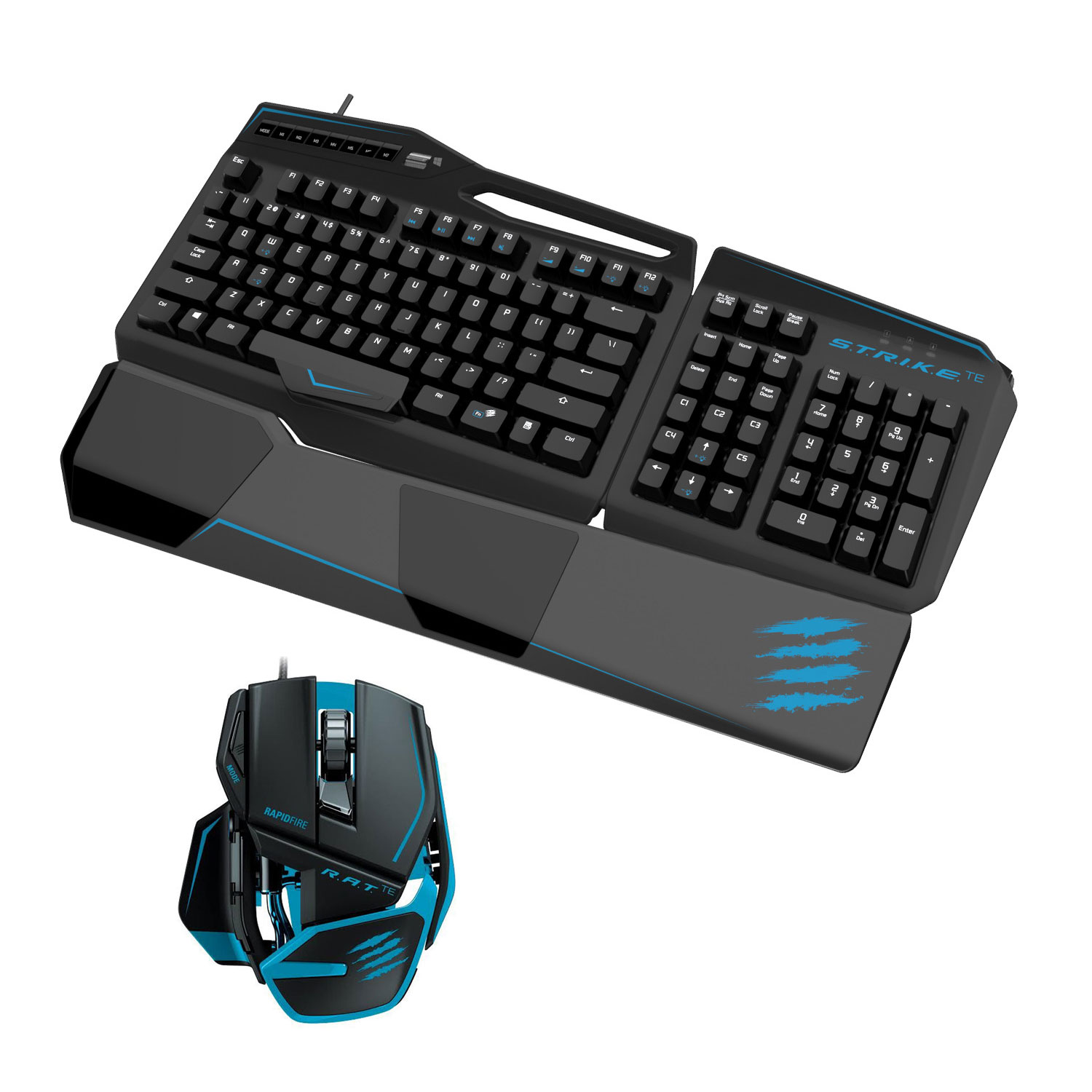 mad catz d u o te tournament edition pack clavier. Black Bedroom Furniture Sets. Home Design Ideas