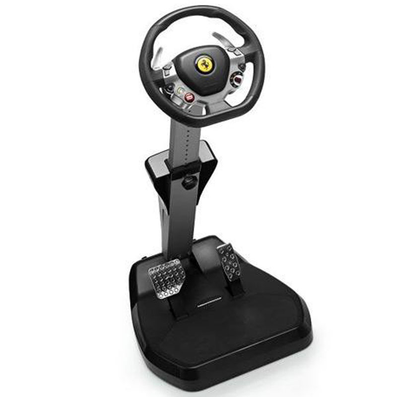 thrustmaster vibration gt cockpit 458 italia edition volant pc thrustmaster sur ldlc. Black Bedroom Furniture Sets. Home Design Ideas
