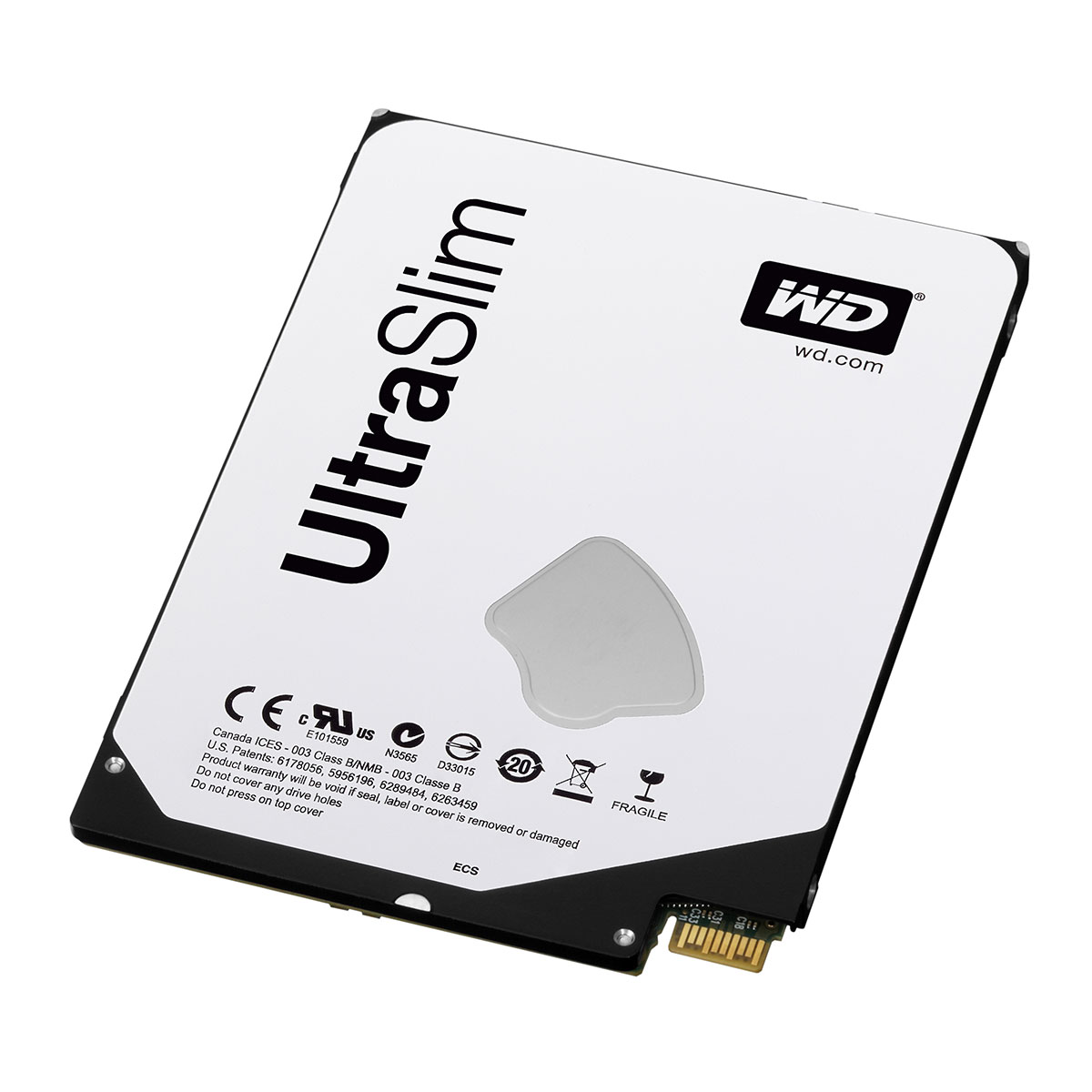 "Disque dur interne WD Blue Mobile 500 Go Ultra-Slim + Adaptateur SATA Disque dur 2.5"" 500 Go 5 mm 5400 RPM 16 Mo Serial ATA III 6 Gb/s Small Form Factor + SATA"