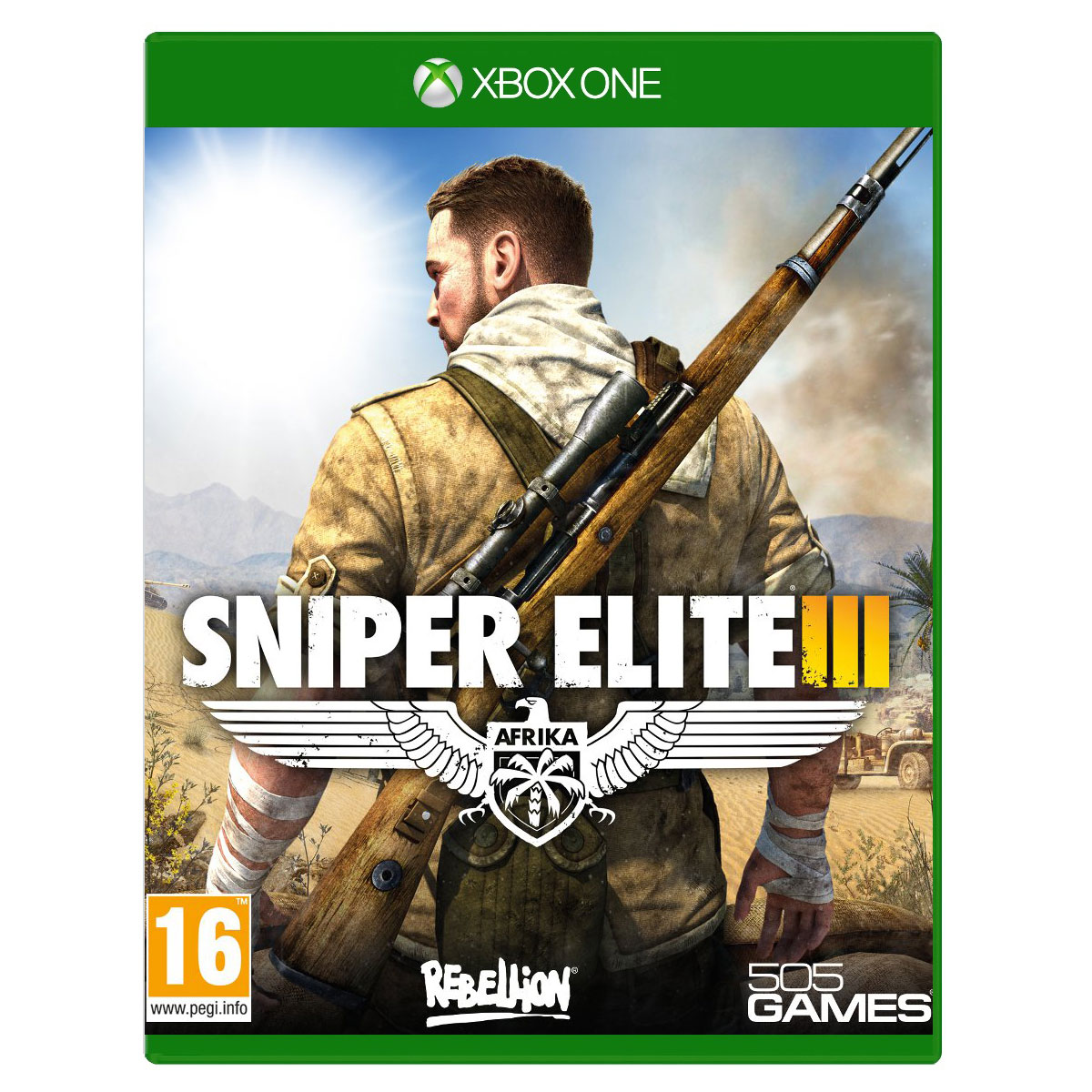 sniper elite iii xbox one dl00423 achat vente jeux. Black Bedroom Furniture Sets. Home Design Ideas