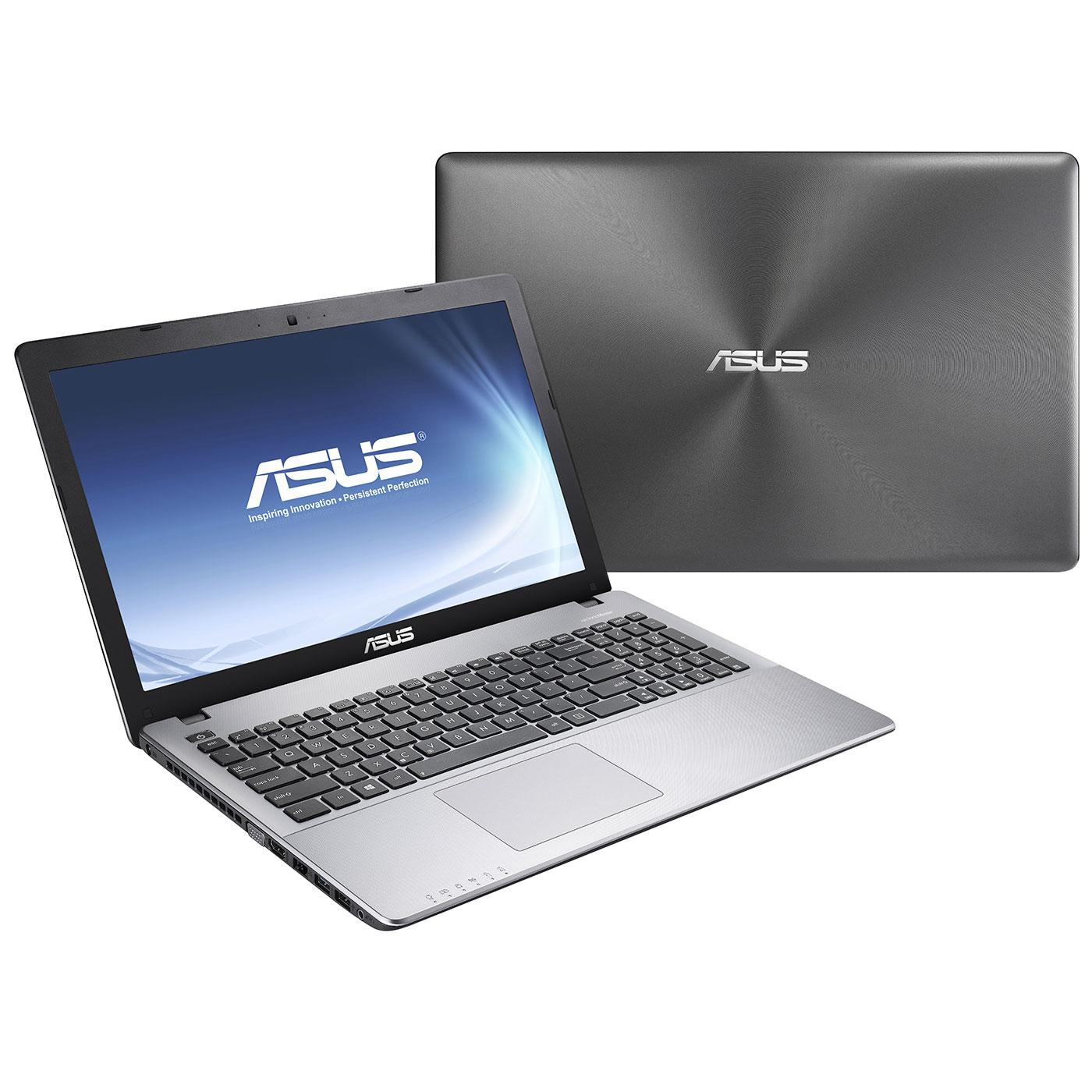 """PC portable ASUS R510JK-DM096H Intel Core i5-4200H 8 Go 1 To 15.6"""" LED NVIDIA GeForce GTX 850M Graveur DVD Wi-Fi N/Bluetooth Webcam Windows 8.1 64 bits (garantie constructeur 1 an)"""