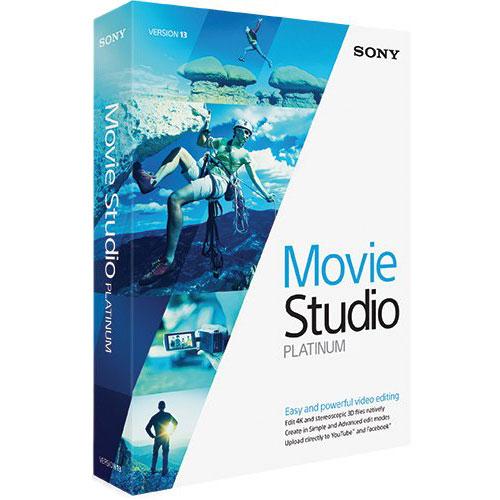 Logiciel composition vidéo Sony Movie Studio Platinum 13 Logiciel de composition vidéo (français, WINDOWS)