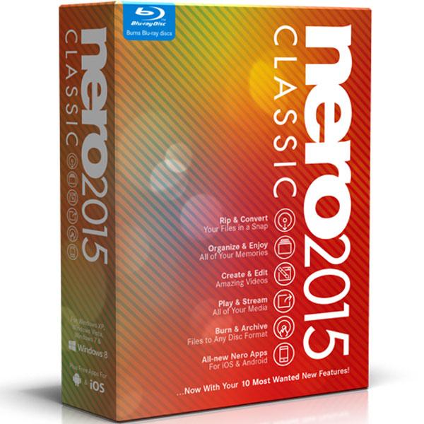 Logiciel gravure Nero 2015 Classic Logiciel de gravure (français, WINDOWS)