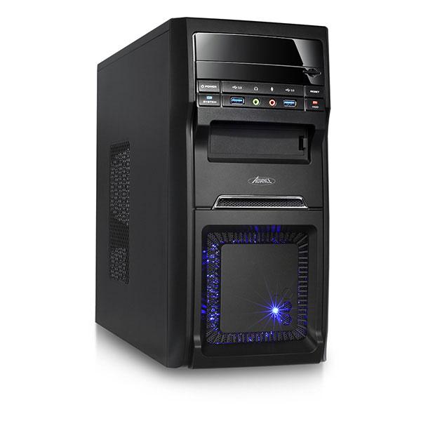 Boîtier PC Advance Spark Boîtier Mini tour Noir