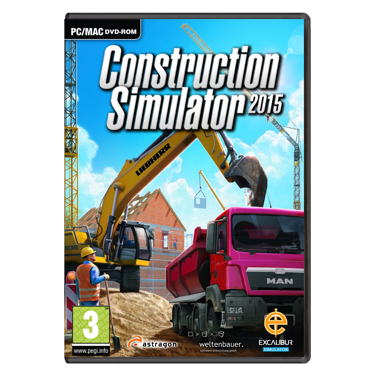 construction simulator 2015 pc jeux pc astragon software sur ldlc. Black Bedroom Furniture Sets. Home Design Ideas