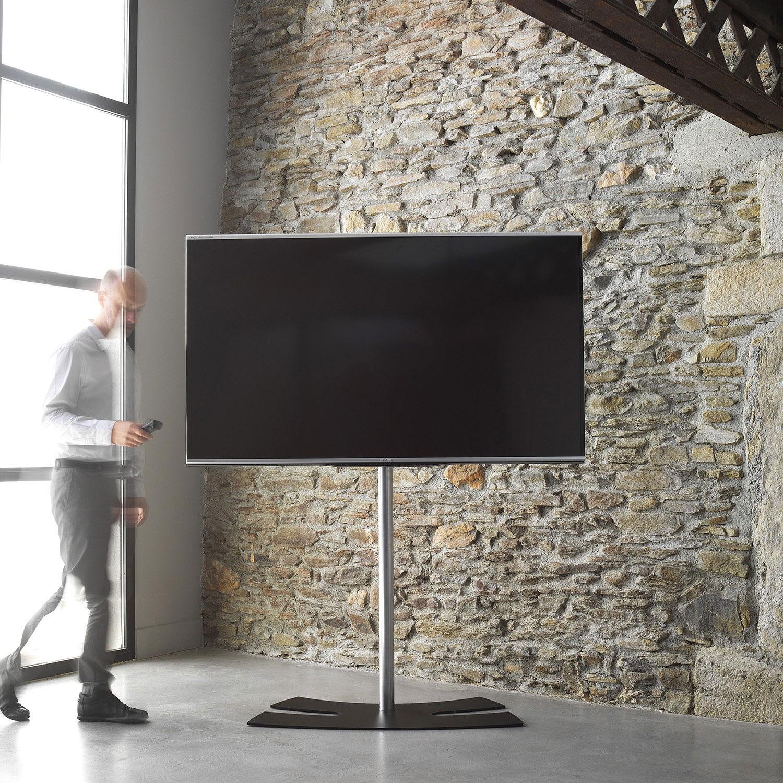 Erard lux up 1600xl noir support mural tv erard group - Support tv sur pied darty ...