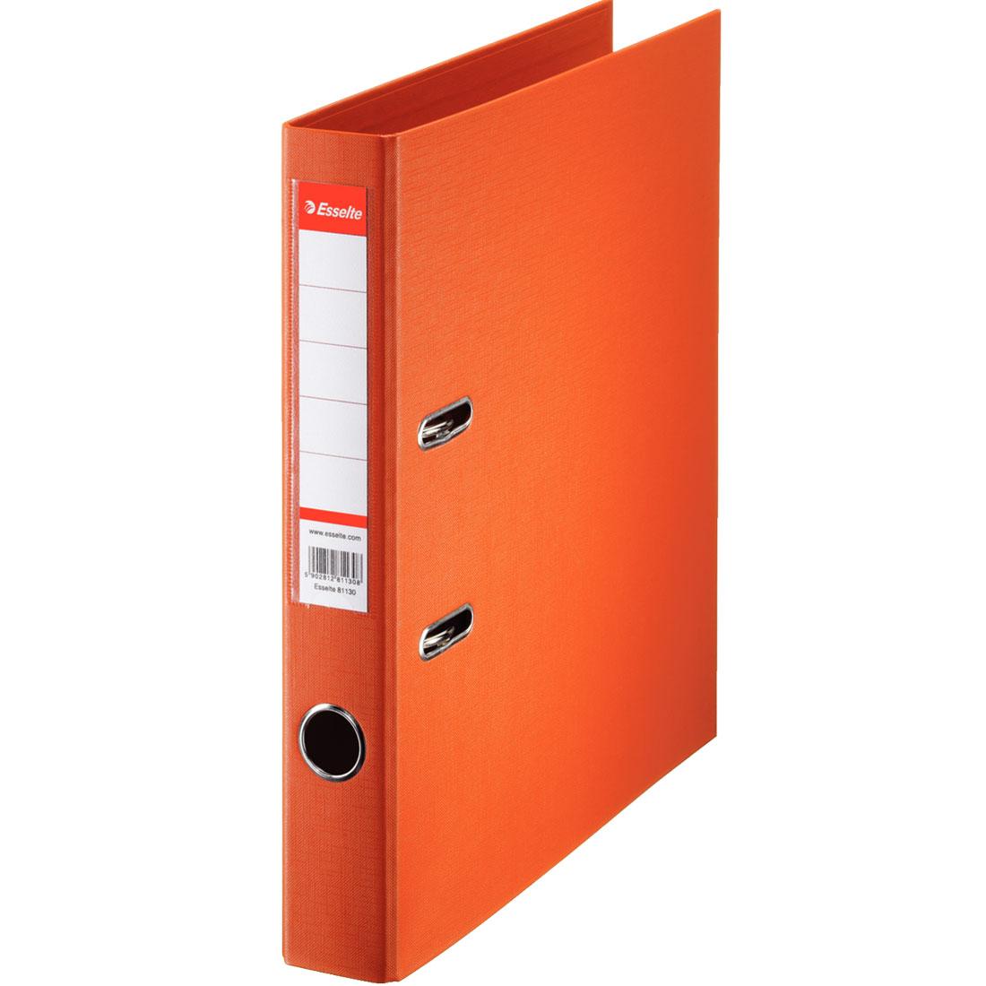classeur orange