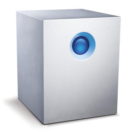Disque dur externe LaCie 5big Thunderbolt 2 20 To Système de stockage RAID professionnel haute performance à 5 disques sur ports Thunderbolt 2 (garantie LaCie 3 ans)