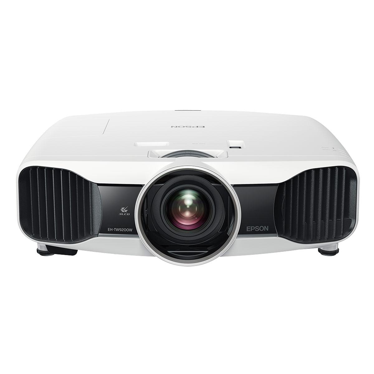 Vidéoprojecteur Epson EH-TW9200W Vidéoprojecteur 3LCD sans fil 1920 x 1080 Full HD 3D 2400 Lumens - transmetteur audio et vidéo sans fil inclus