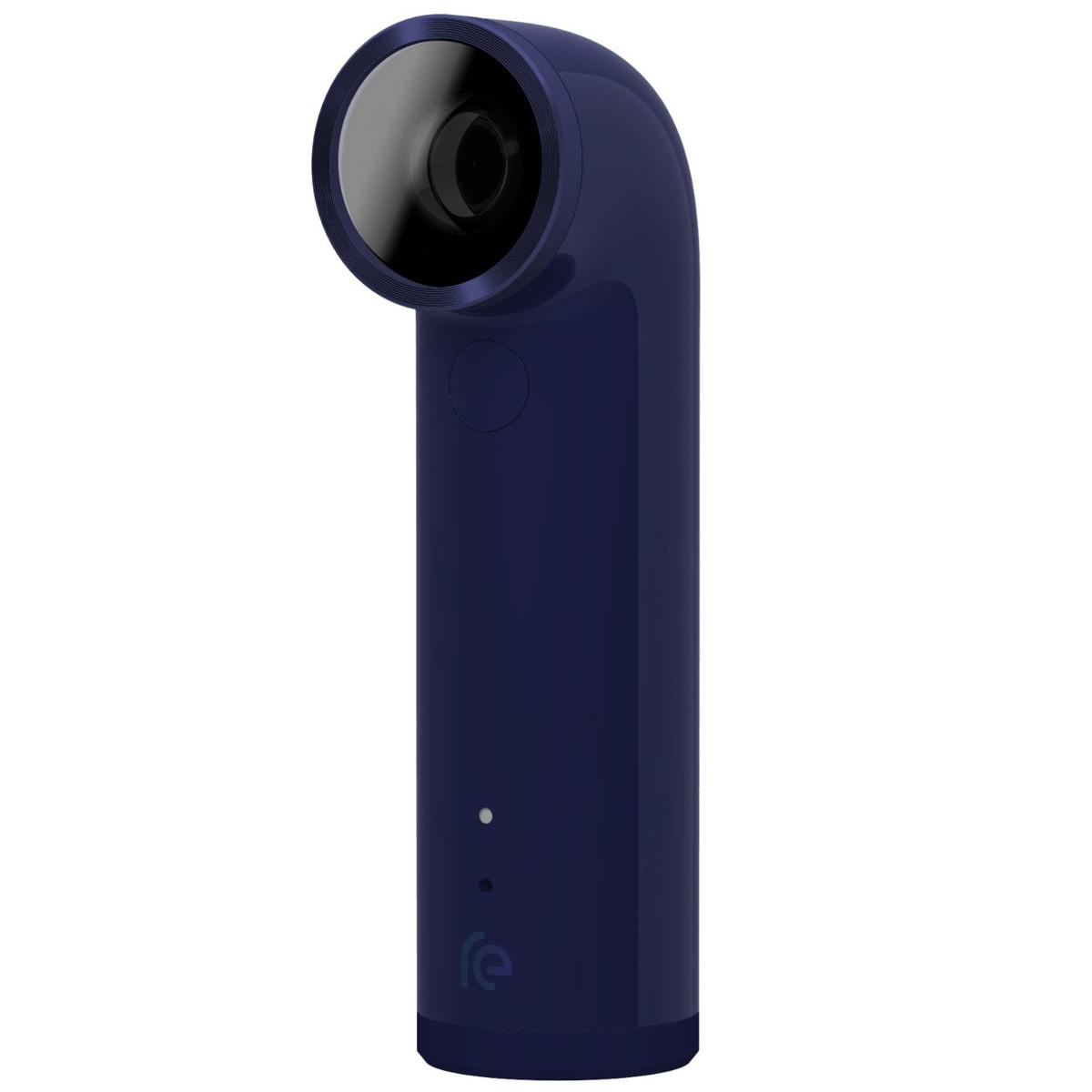 Caméra sportive HTC RE Camera Bleu Caméscope miniature Full HD étanche avec Wi-Fi et Bluetooth