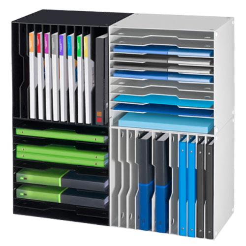 cep cepbox module de classement volutif 12 compartiments noir 1155120011 achat vente. Black Bedroom Furniture Sets. Home Design Ideas