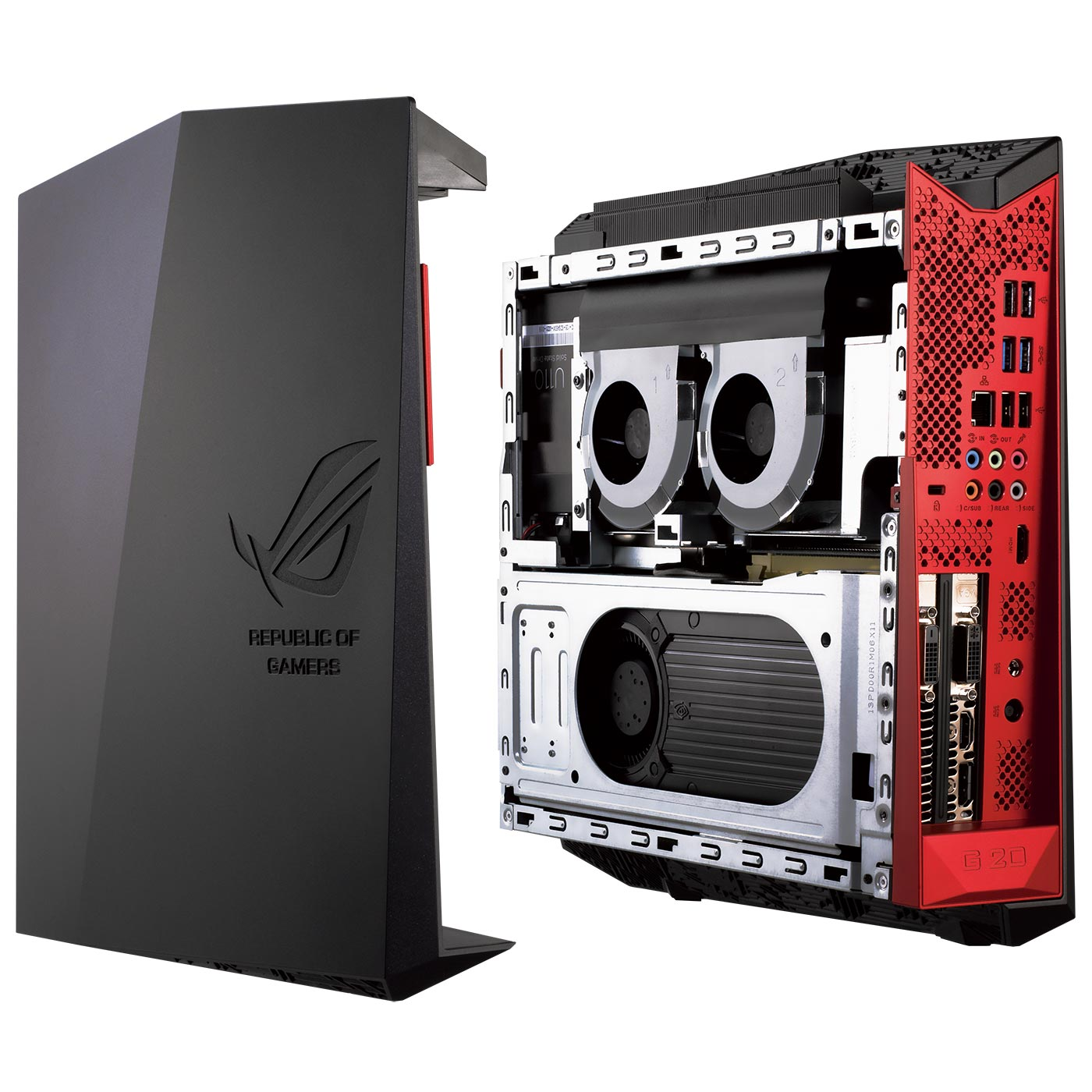 asus rog g20aj fr029s pc de bureau asus sur ldlc. Black Bedroom Furniture Sets. Home Design Ideas