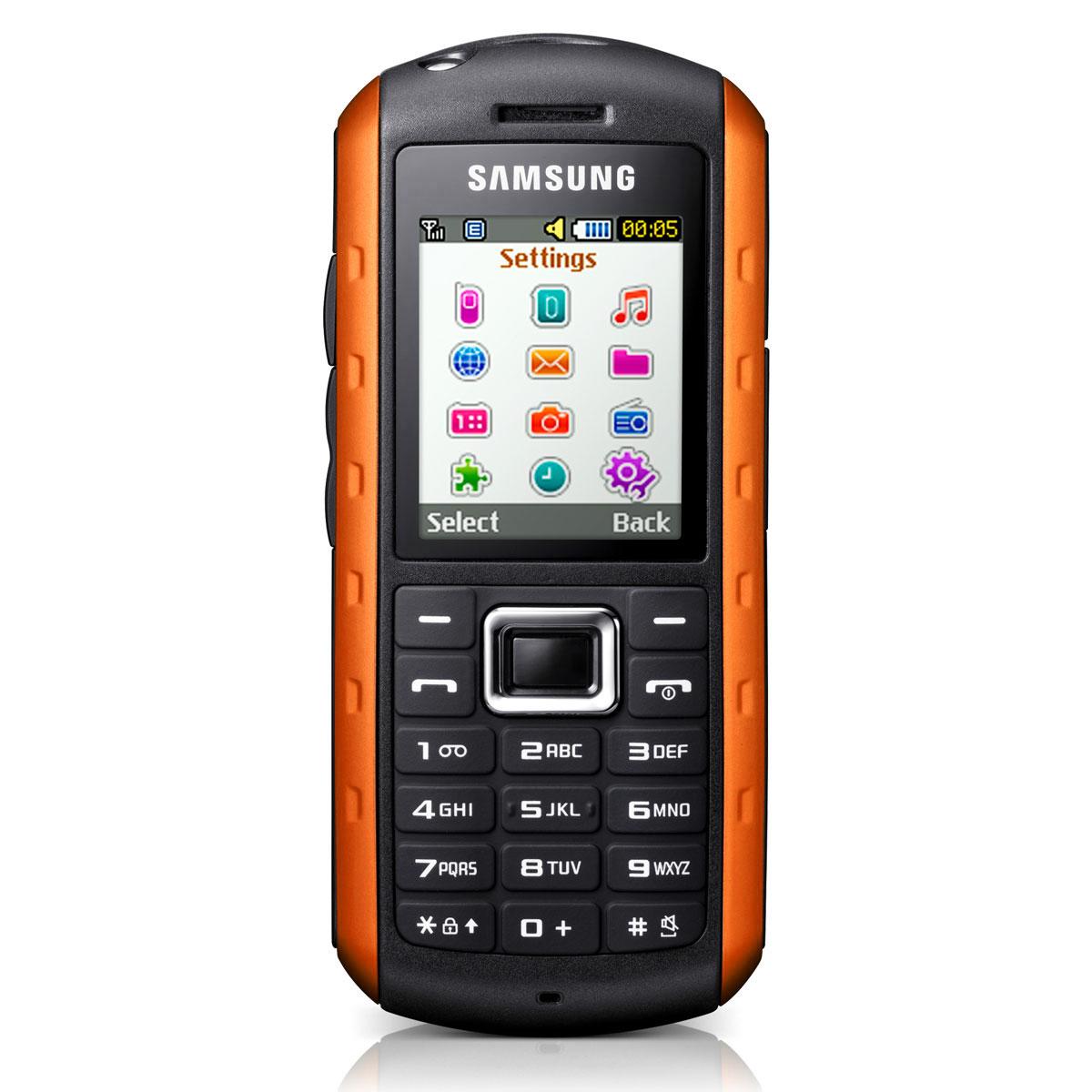 samsung solid gt b2100i noir orange mobile smartphone samsung sur ldlc. Black Bedroom Furniture Sets. Home Design Ideas