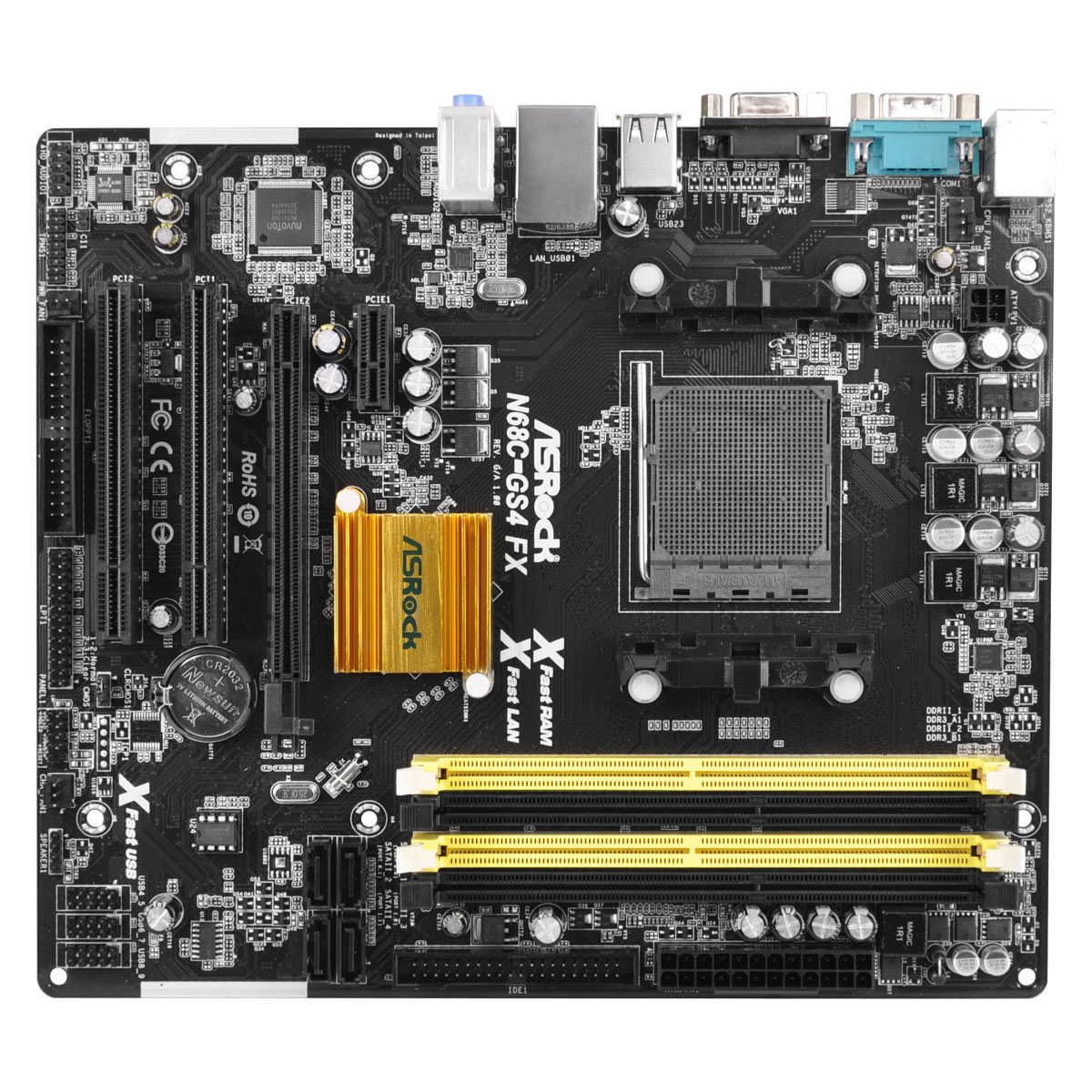 Asrock N68c Gs4 Fx Am3 Motherboard End 1 27 2018 1215 Pm Mainboard Buildup Lga 775 Ddr3