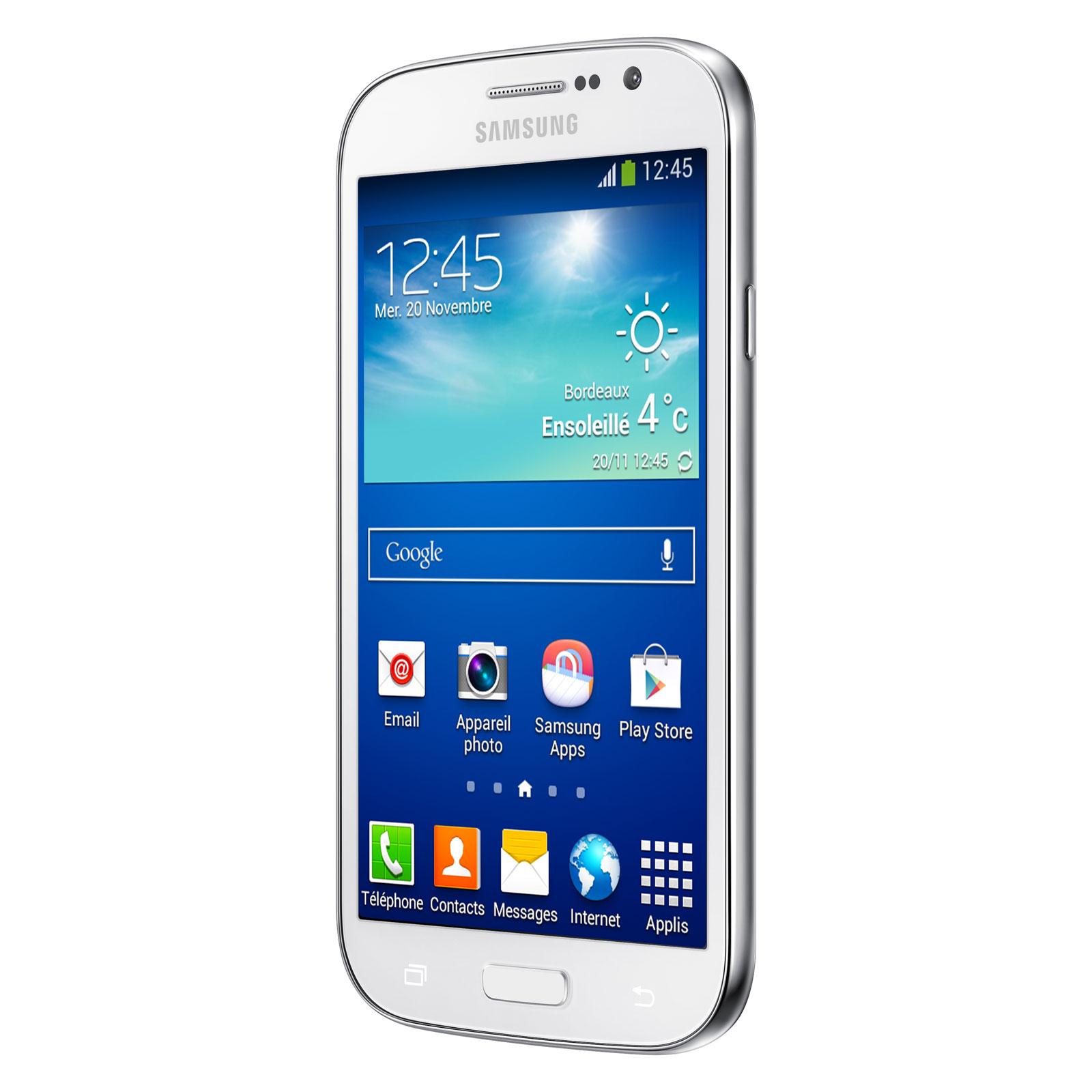 samsung galaxy grand plus gt i960i blanc mobile smartphone samsung sur ldlc. Black Bedroom Furniture Sets. Home Design Ideas