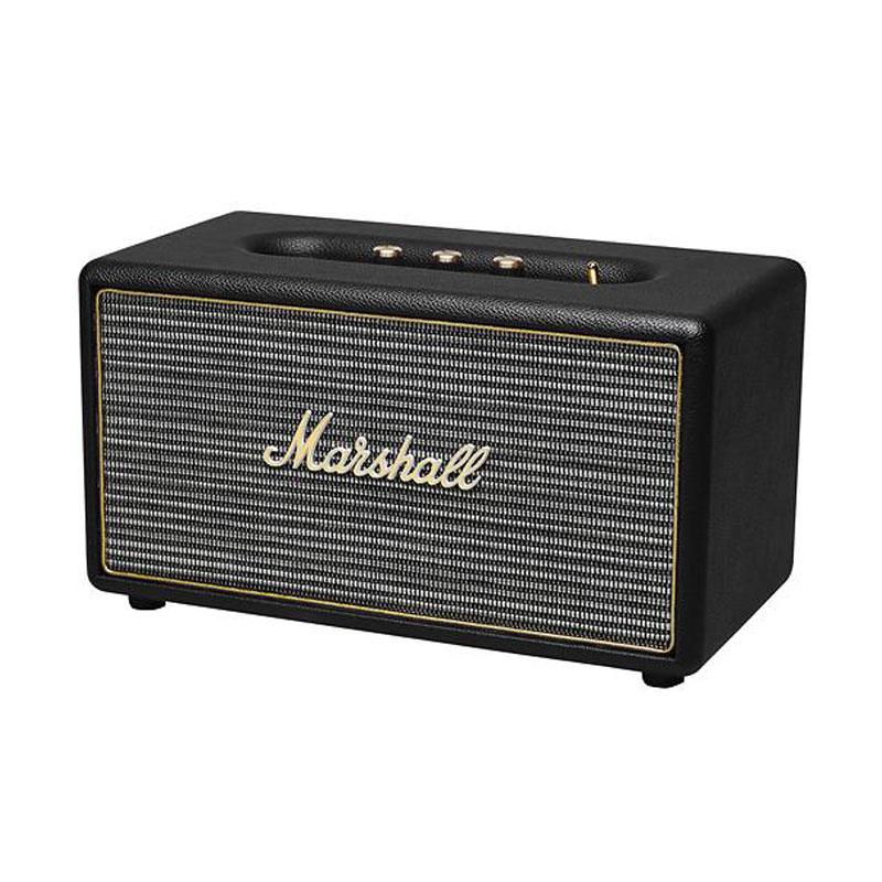 Marshall Stanmore Noir Dock Enceinte Bluetooth Marshall Sur Ldlc