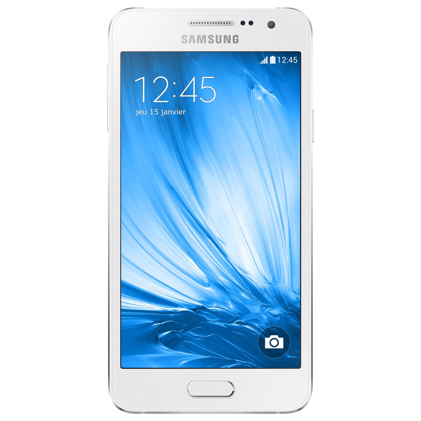 Samsung galaxy a3 blanc mobile smartphone samsung sur ldlc for Photo ecran galaxy a3