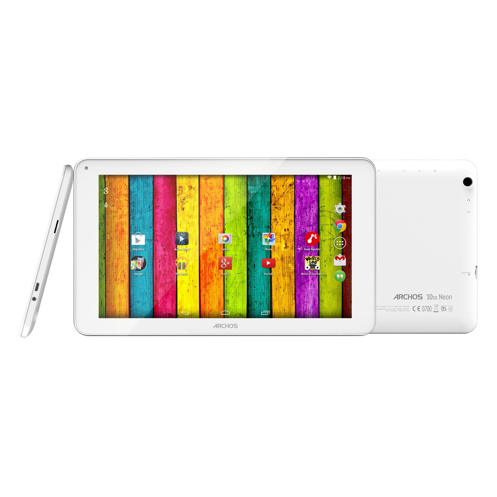 archos 101c neon 16 go 502805 achat vente tablette. Black Bedroom Furniture Sets. Home Design Ideas