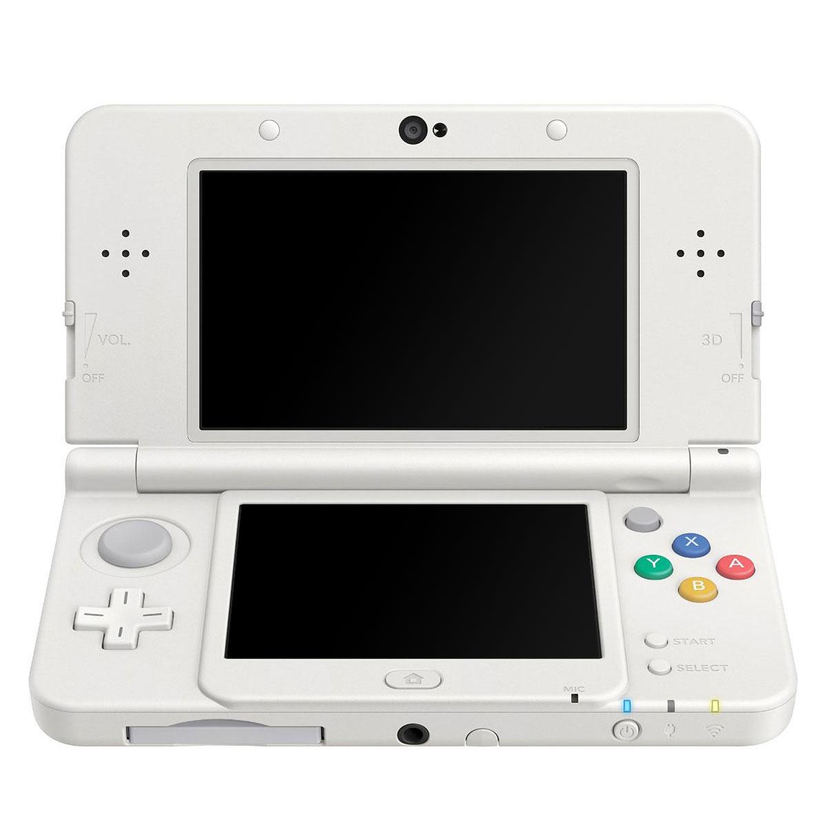 Console Nintendo 3DS Nintendo New 3DS (blanche) Console de jeux-vidéo portable tactile 3D à deux écrans