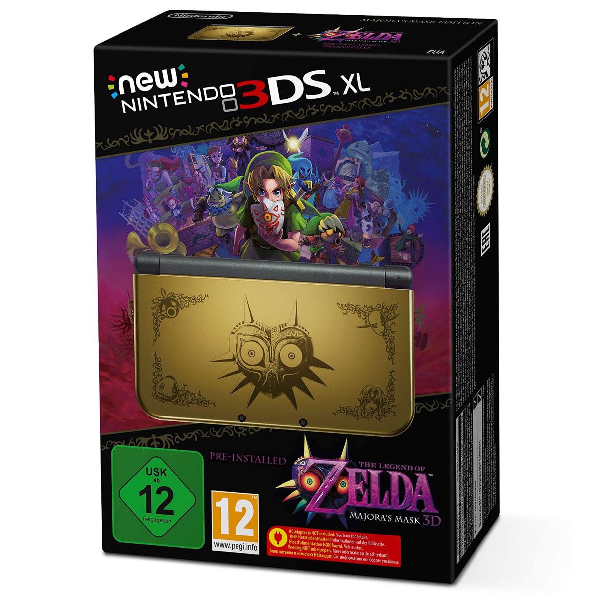 Nintendo new 3ds xl the legend of zelda majora 39 s mask 3d 2206132 achat vente console - Console de jeux portable tactile ...
