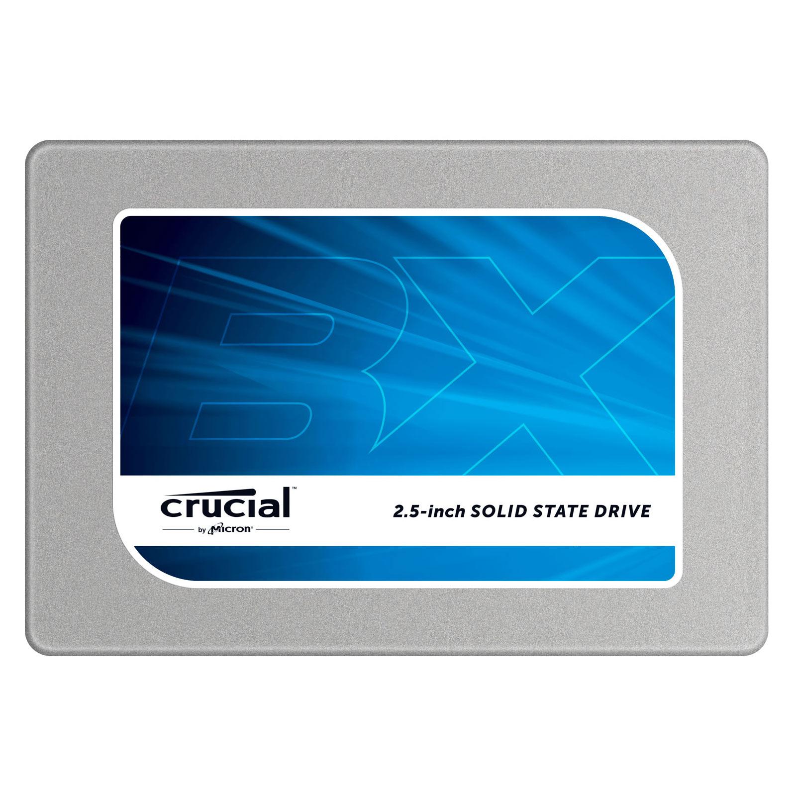 "Disque SSD Crucial BX100 250 Go SSD 250 Go 2.5"" 7mm Serial ATA 6Gb/s"