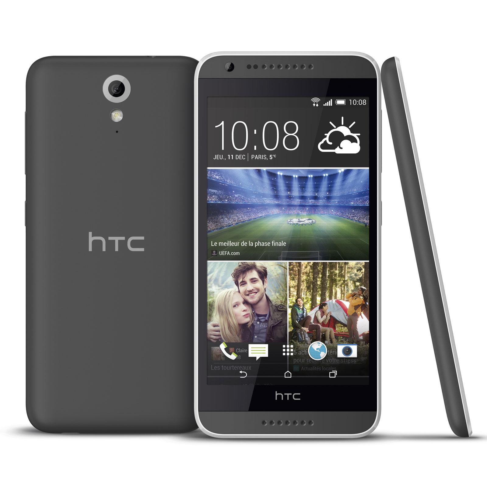 htc desire 620 gris mobile smartphone htc sur ldlc. Black Bedroom Furniture Sets. Home Design Ideas