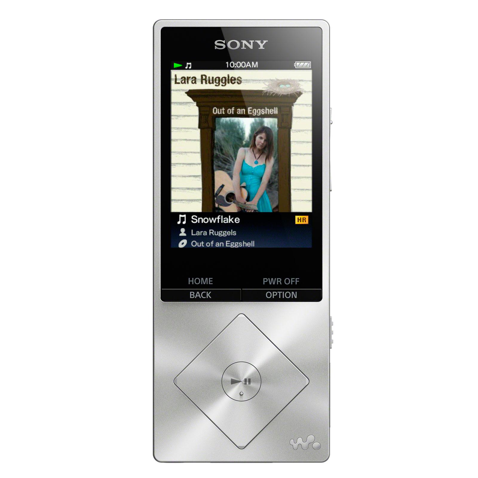 sony nwz a15s argent lecteur mp3 ipod sony sur ldlc. Black Bedroom Furniture Sets. Home Design Ideas