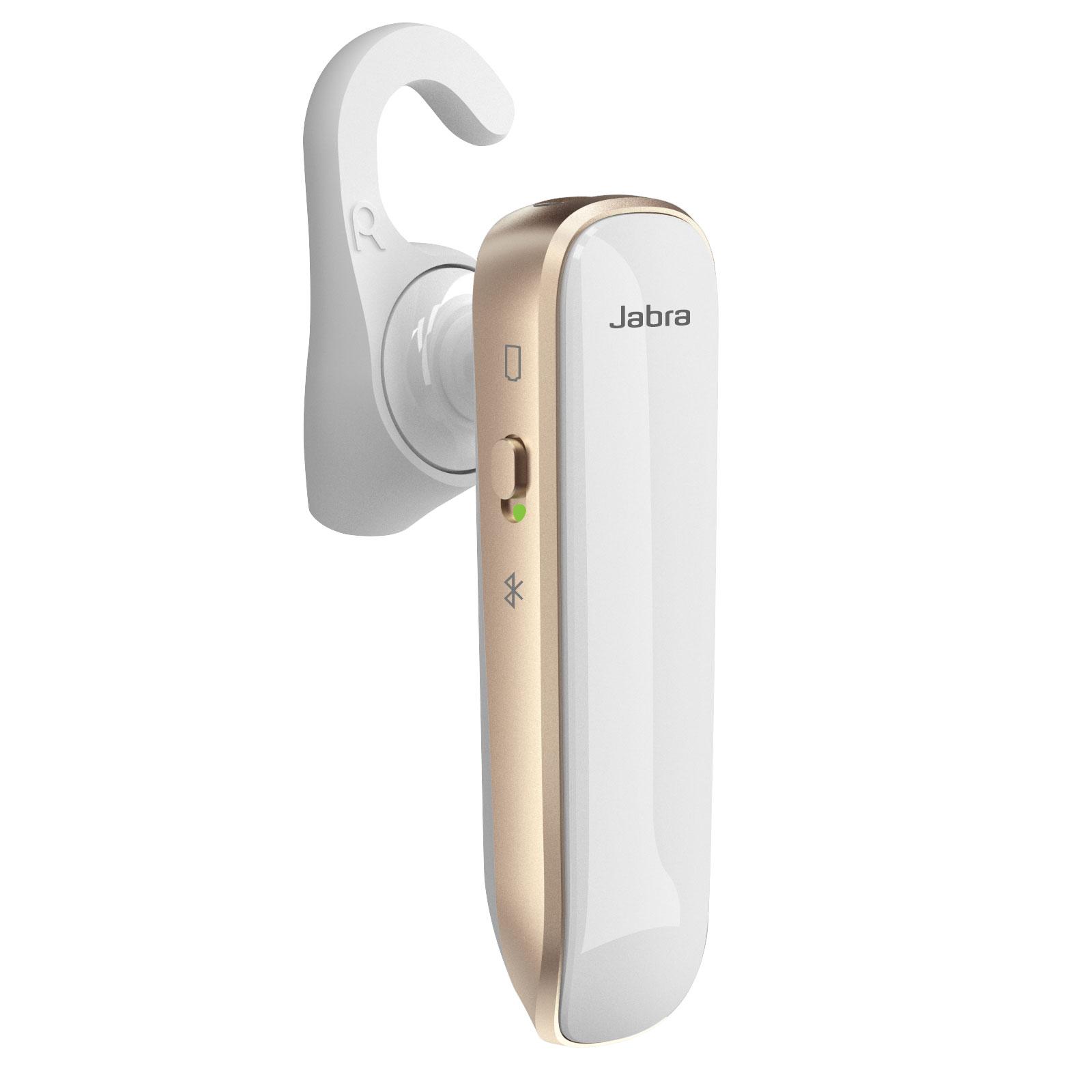 Kit piéton et Casque Jabra Boost Blanc / Or Oreillette Bluetooth compact
