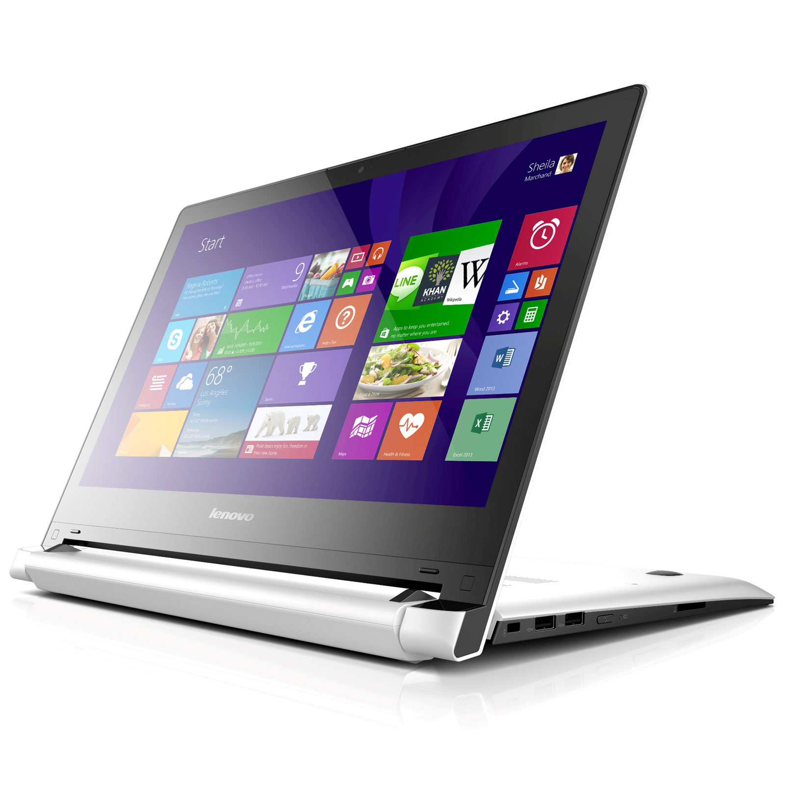 lenovo flex 2 blanc 59436085 pc portable lenovo sur ldlc. Black Bedroom Furniture Sets. Home Design Ideas