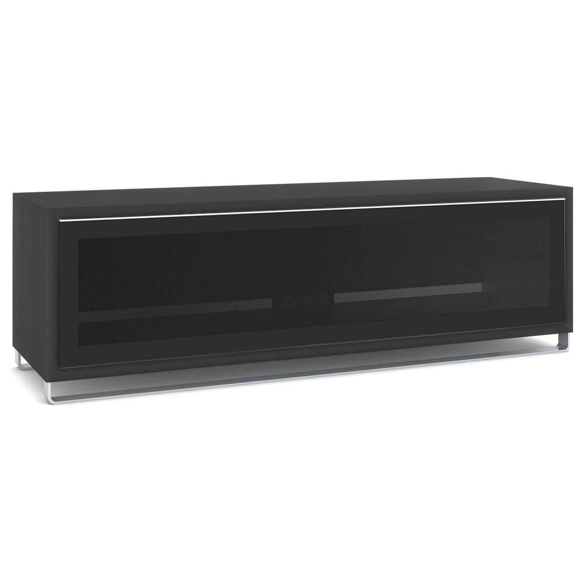 de conti ampio noir meuble tv de conti sur ldlc. Black Bedroom Furniture Sets. Home Design Ideas