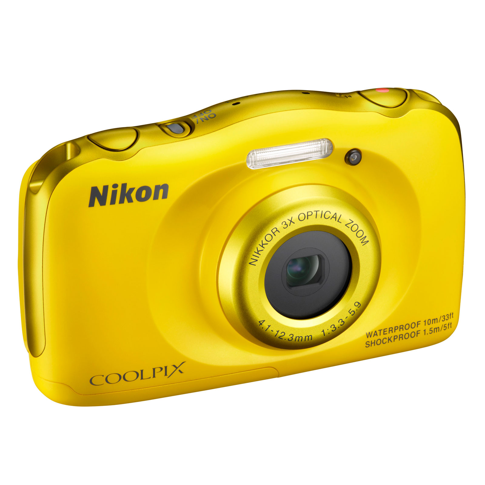 nikon coolpix s33 jaune appareil photo num rique nikon. Black Bedroom Furniture Sets. Home Design Ideas