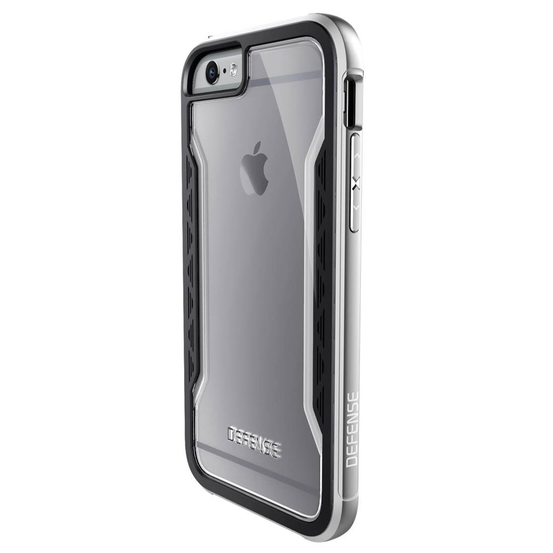 x doria coque de protection defense shield argent iphone 6. Black Bedroom Furniture Sets. Home Design Ideas