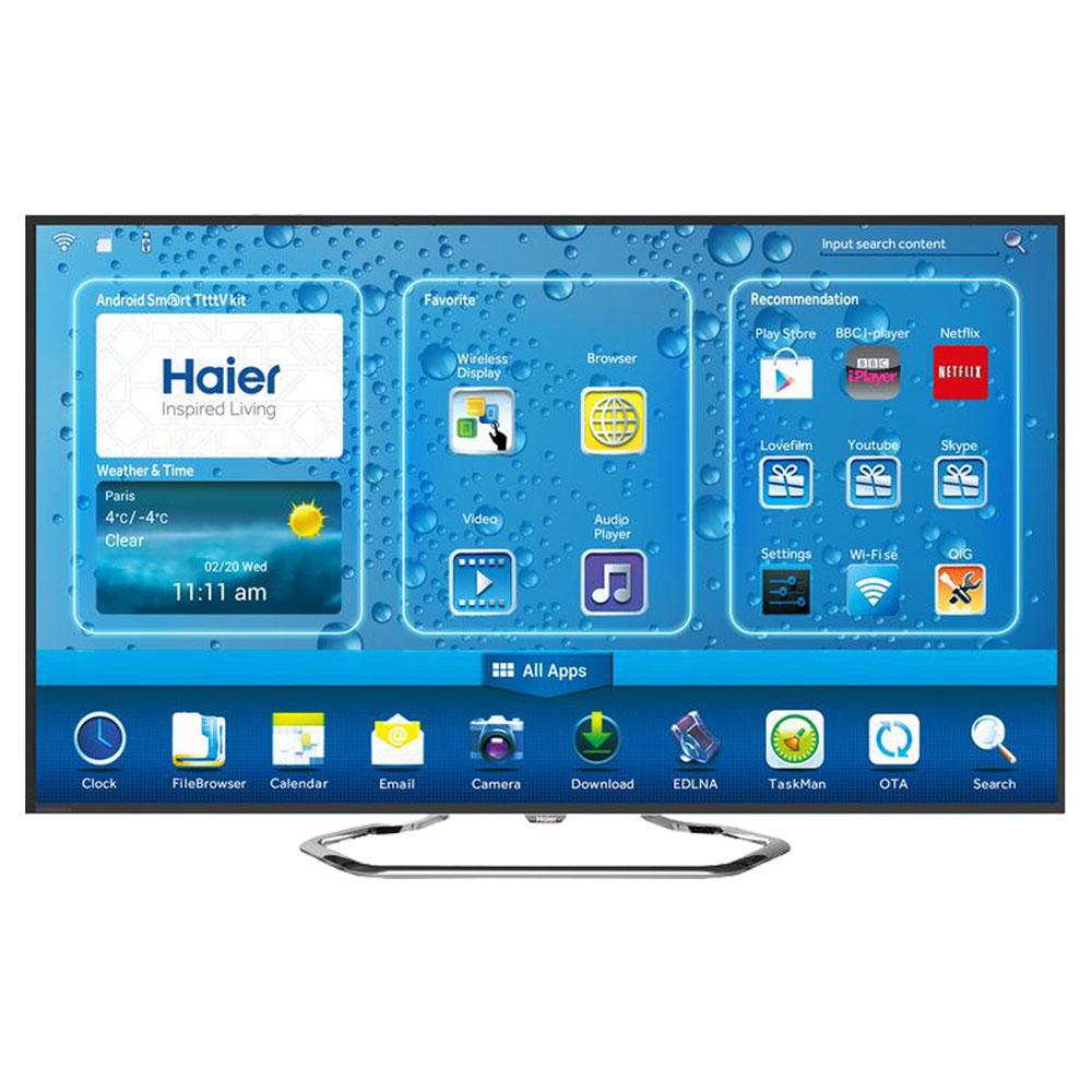 """TV Haier LE39M7000CF Téléviseur LED Android 4.2 Full HD 39"""" (99 cm) 16/9 - 1920 x 1080 pixels - Tuner TNT et Câble HD - Wi-Fi - HDTV 1080p - 400 Hz"""