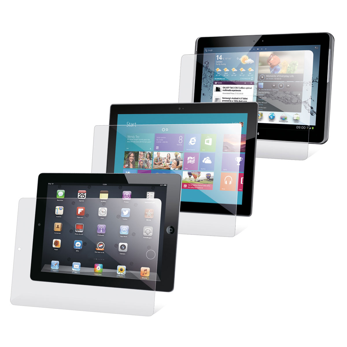 film de protection pour ipad air par 2 n a achat. Black Bedroom Furniture Sets. Home Design Ideas