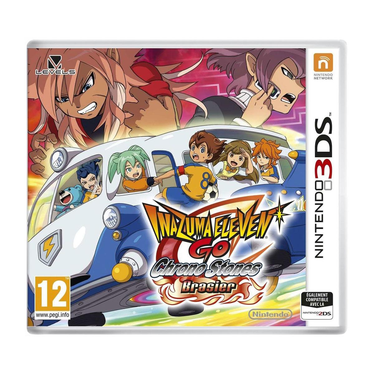 Jeux Nintendo 3DS Inazuma Eleven Go Chronos Stone : Brasier (Nintendo 3DS/2DS) Inazuma Eleven Go Chronos Stone : Brasier (Nintendo 3DS/2DS)