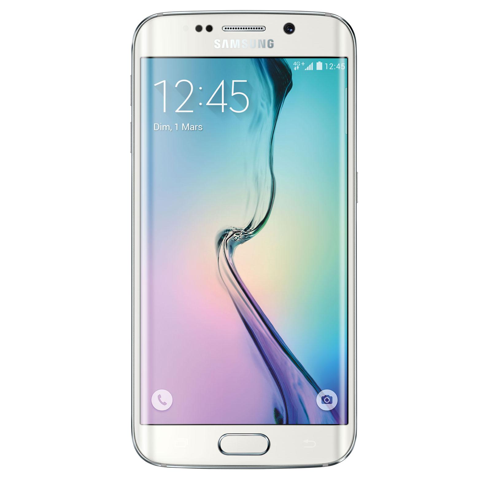 Samsung Galaxy S6 Edge SM G925F Blanc 32 GO Smartphone 4G LTE Advanced