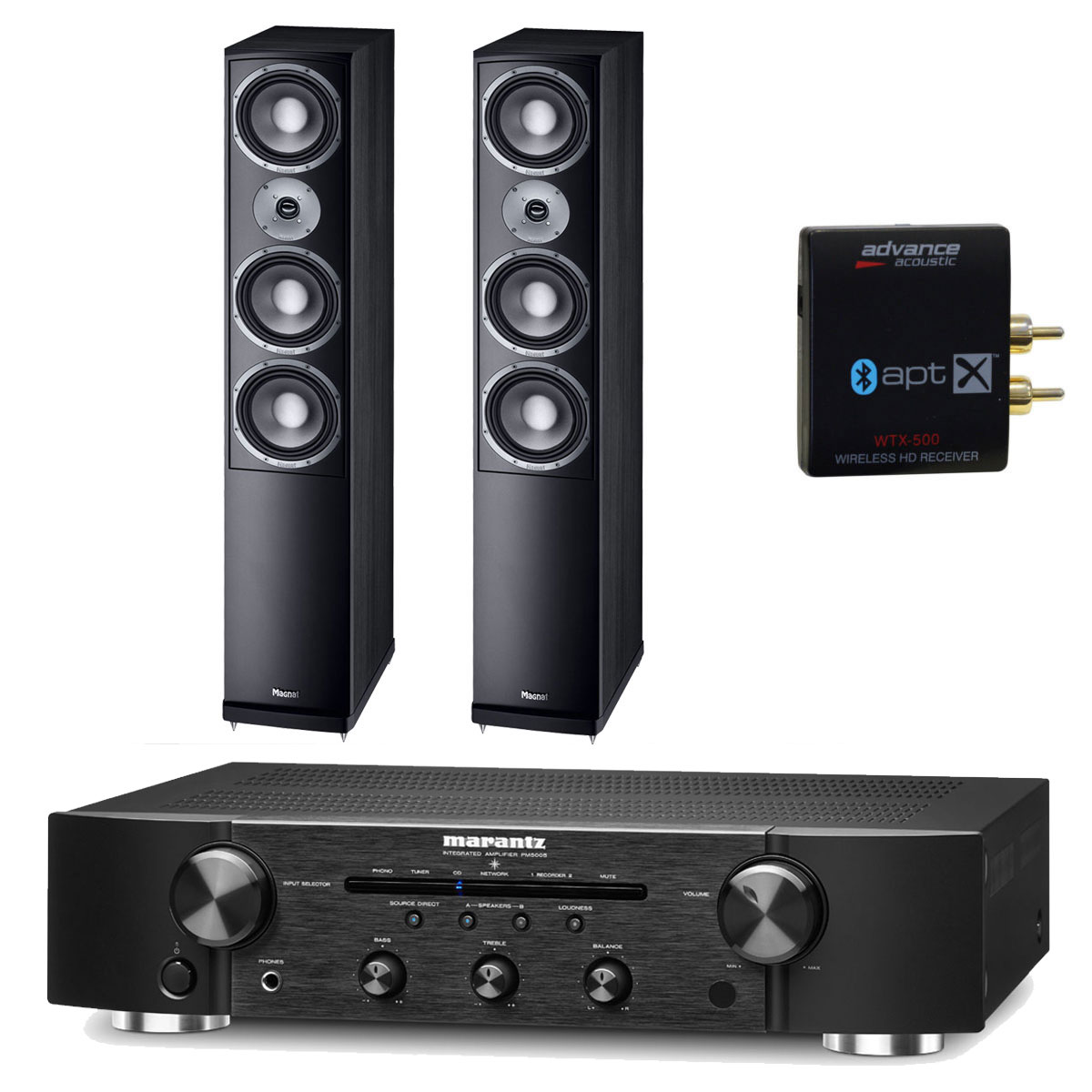 pack marantz pm5005 noir advance acoustic wtx 500 magnat vector 207 ensemble hifi marantz. Black Bedroom Furniture Sets. Home Design Ideas