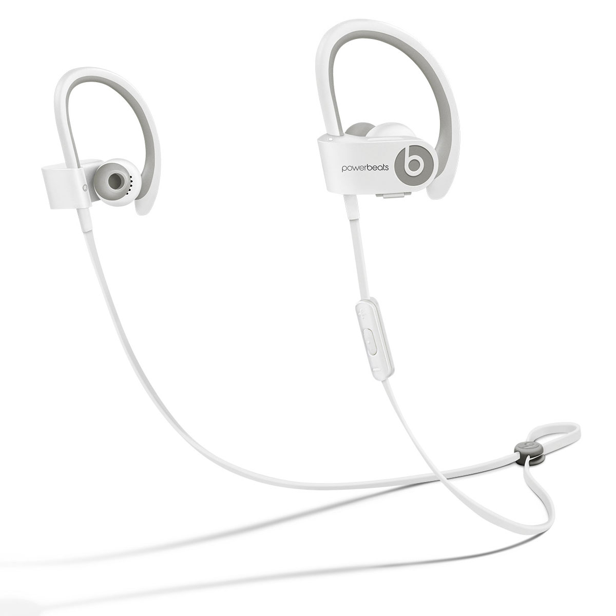 beats powerbeats2 wireless blanc casque beats by dr dre. Black Bedroom Furniture Sets. Home Design Ideas