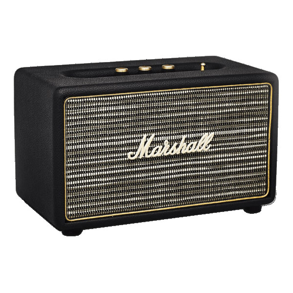 marshall acton noir dock enceinte bluetooth marshall sur ldlc. Black Bedroom Furniture Sets. Home Design Ideas