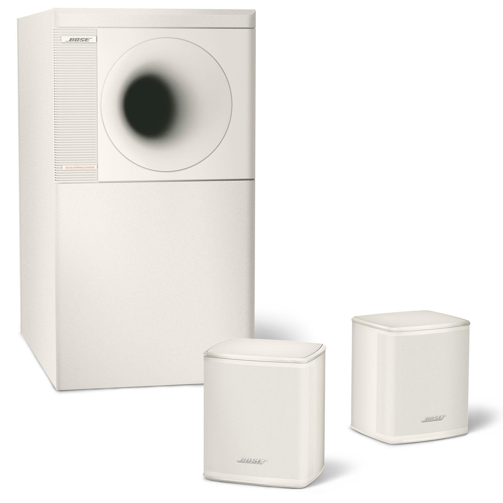 bose acoustimass 3 serie v blanc enceintes hifi bose sur. Black Bedroom Furniture Sets. Home Design Ideas