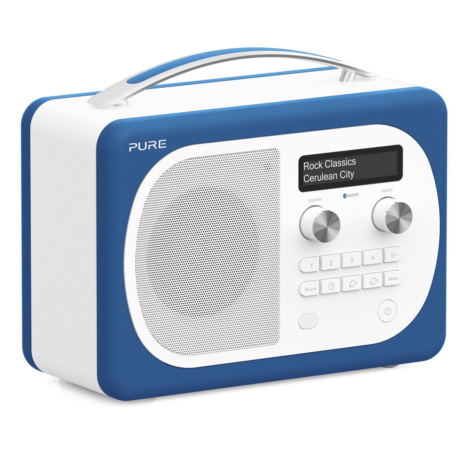 pure evoke d4 mio bluetooth cerulean radio radio. Black Bedroom Furniture Sets. Home Design Ideas