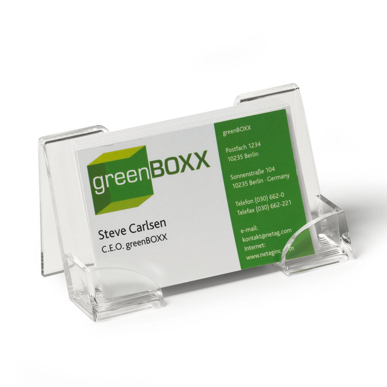 durable pr sentoir distributeur pour cartes de visite porte carte de visite durable sur ldlc. Black Bedroom Furniture Sets. Home Design Ideas
