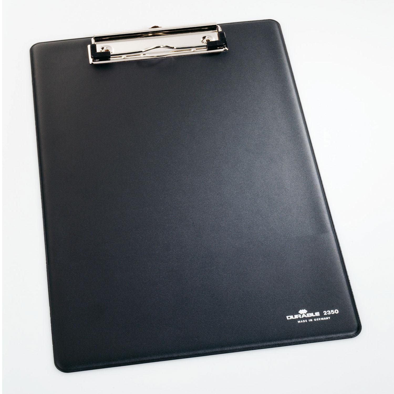 Durable Porte Bloc A4 Standard Coloris Noir Bloc Note