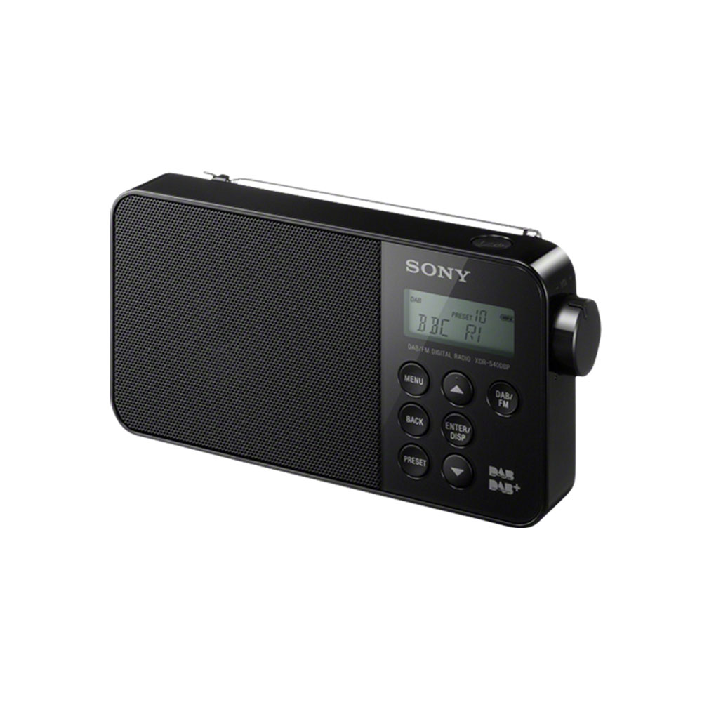 Sony xdr s40dbp noir radio radio r veil sony sur ldlc for Radio numerique portable