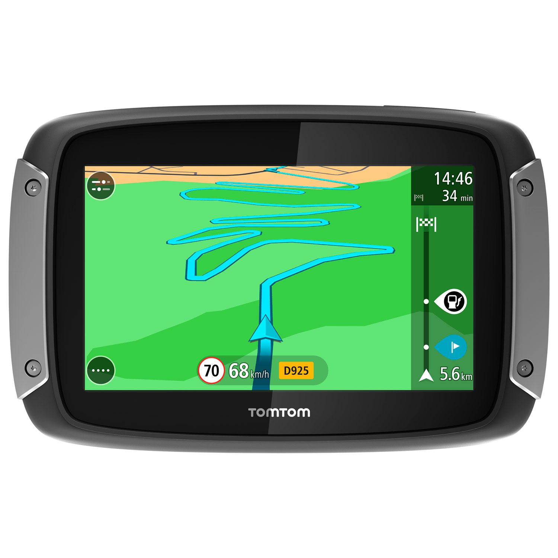"""GPS TomTom RIDER 400 GPS 45 pays d'Europe écran 4.3"""" étanche"""