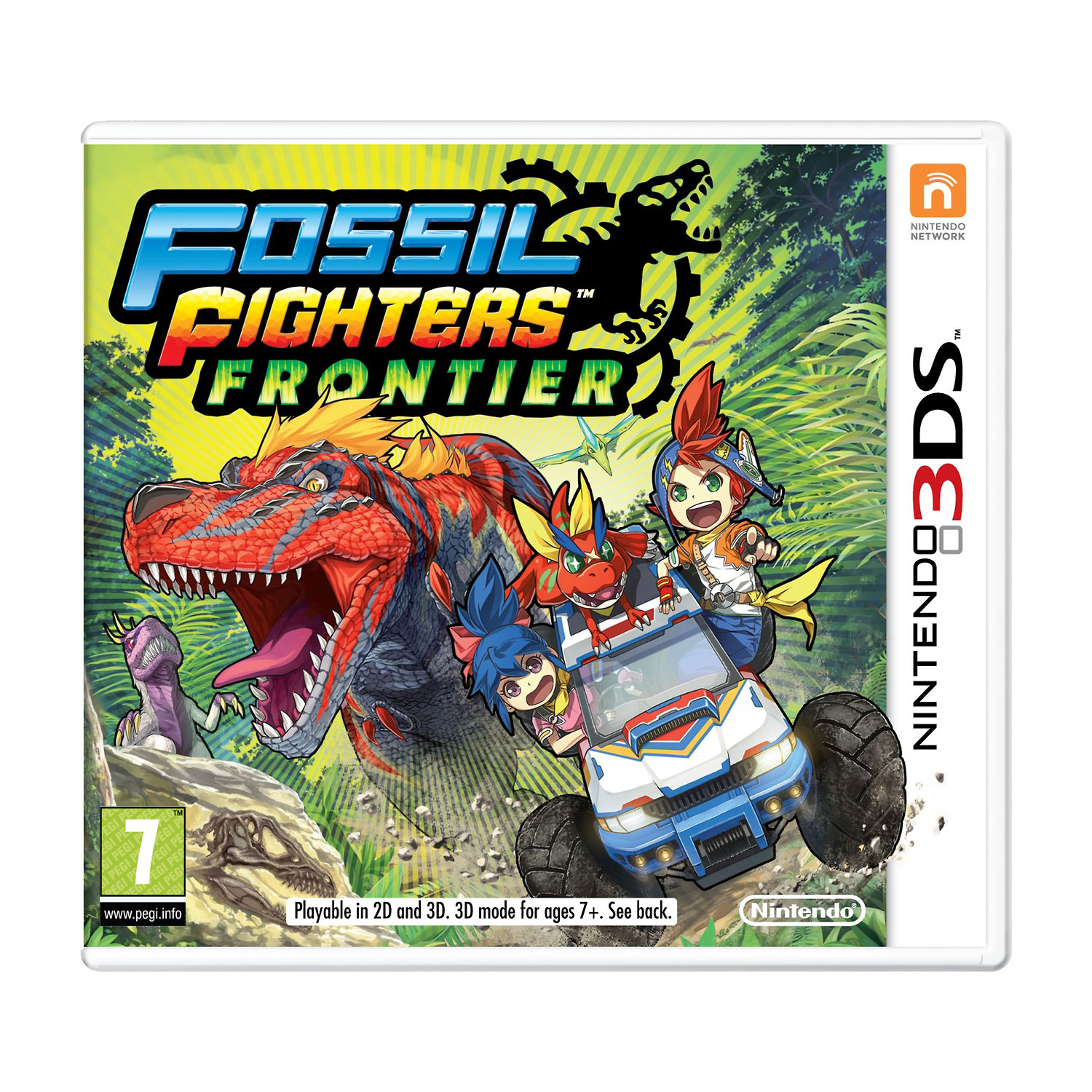 Jeux Nintendo 3DS Fossil Fighters : Frontier (Nintendo 3DS/2DS) Fossil Fighters : Frontier (Nintendo 3DS/2DS)