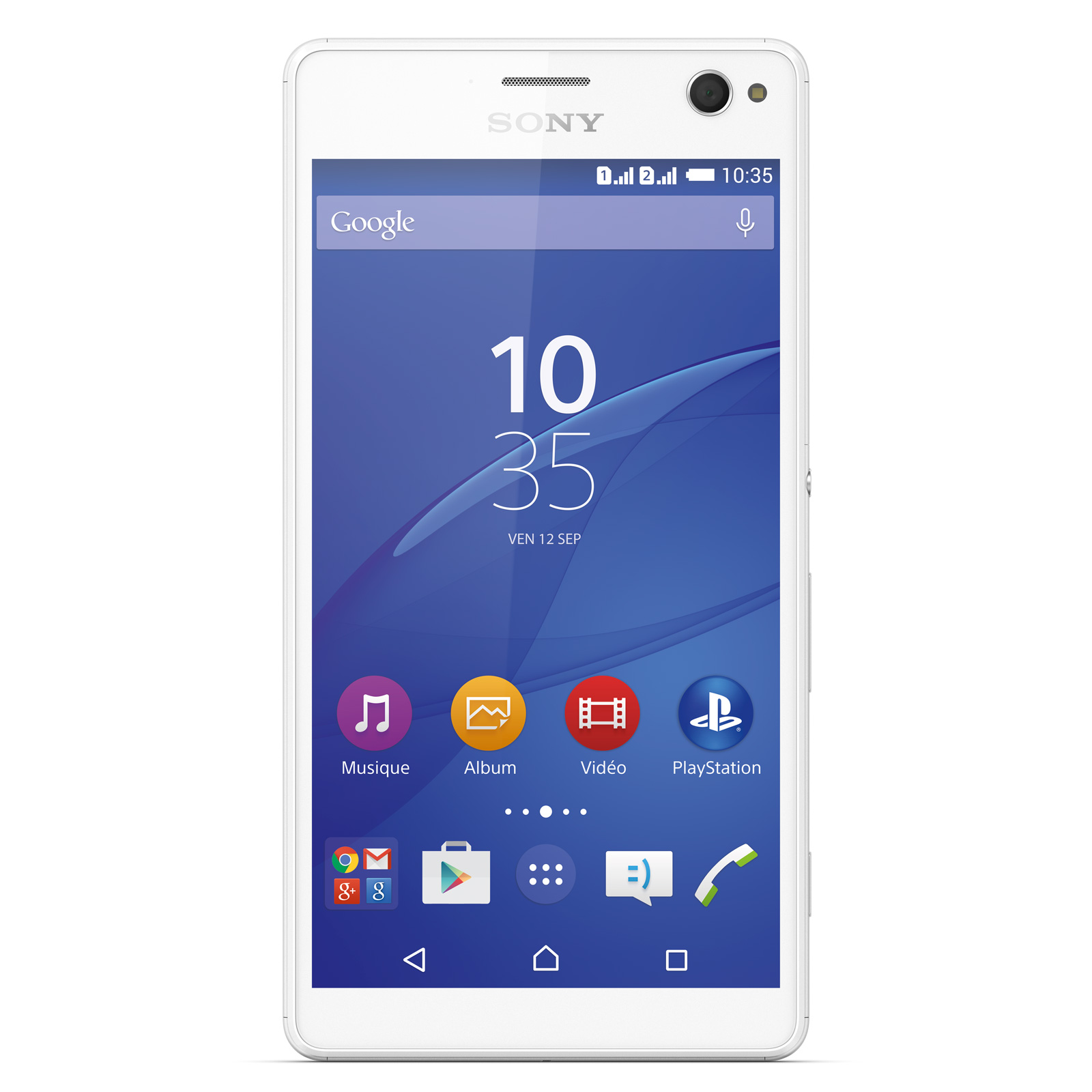 sony xperia c4 dual sim blanc mobile smartphone sony. Black Bedroom Furniture Sets. Home Design Ideas