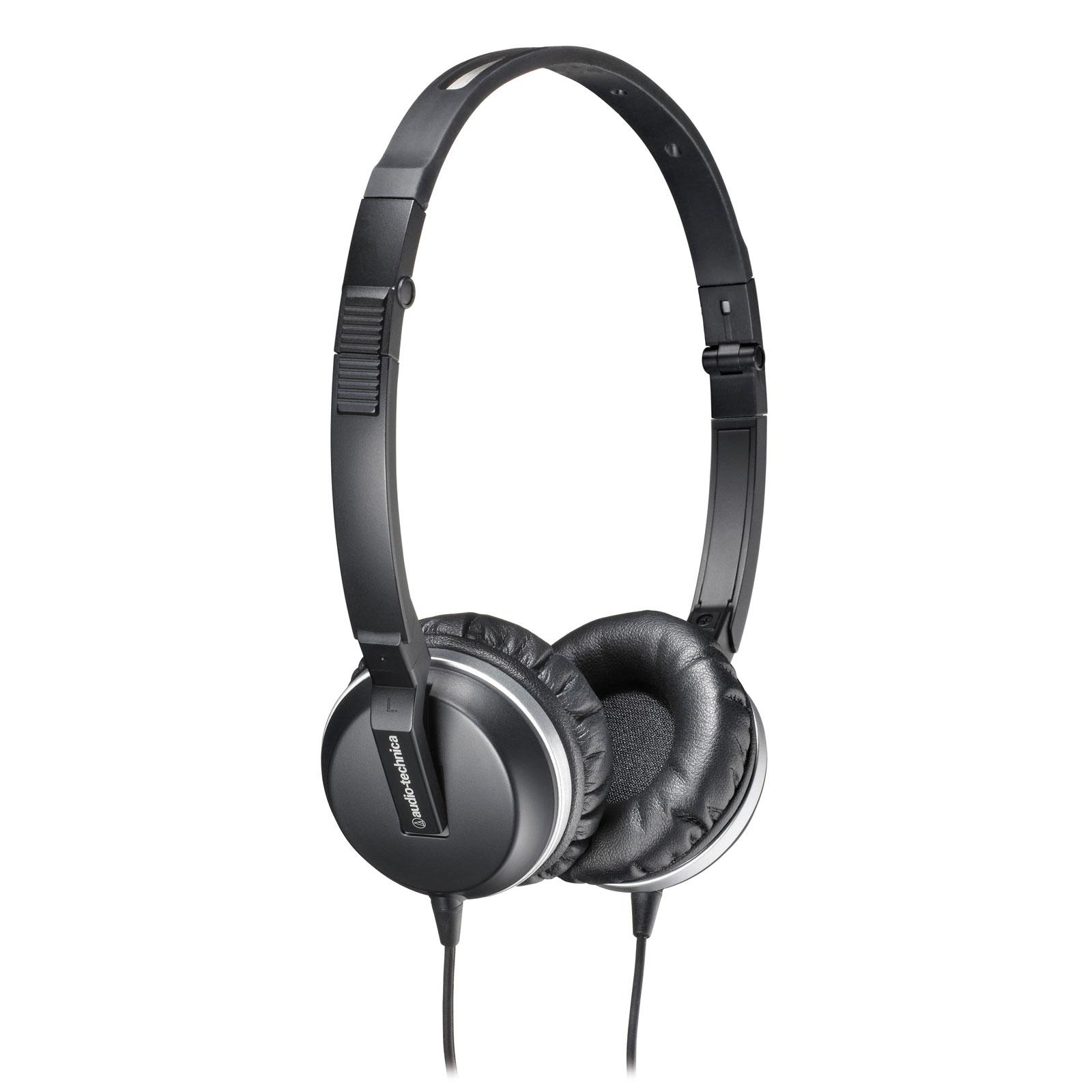 Casque Audio-Technica ATH-ANC1 Casque supra-auriculaire fermé à réduction de bruit active pliable