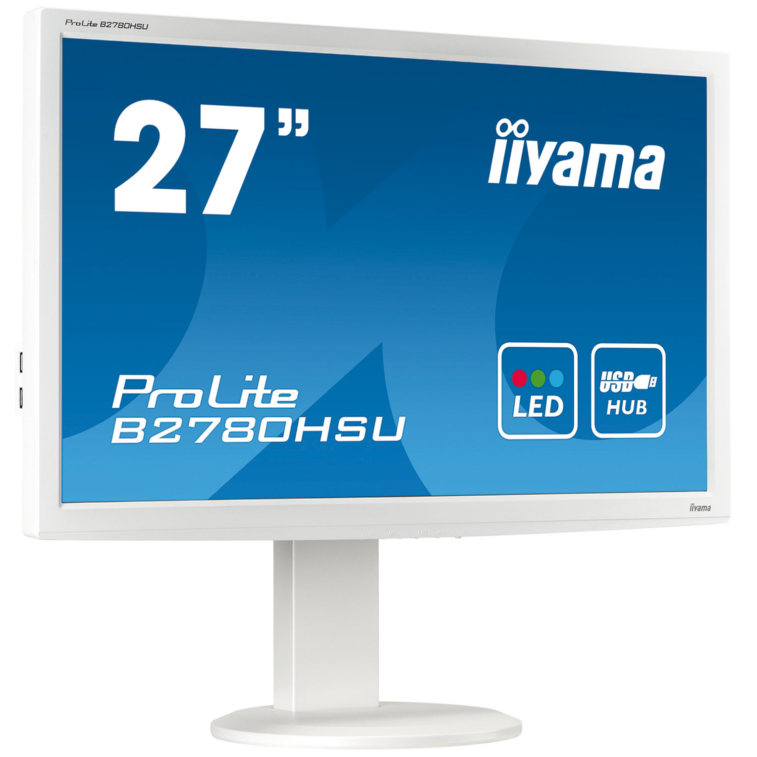 iiyama 27 led prolite b2780hsu blanc ecran pc iiyama sur ldlc. Black Bedroom Furniture Sets. Home Design Ideas