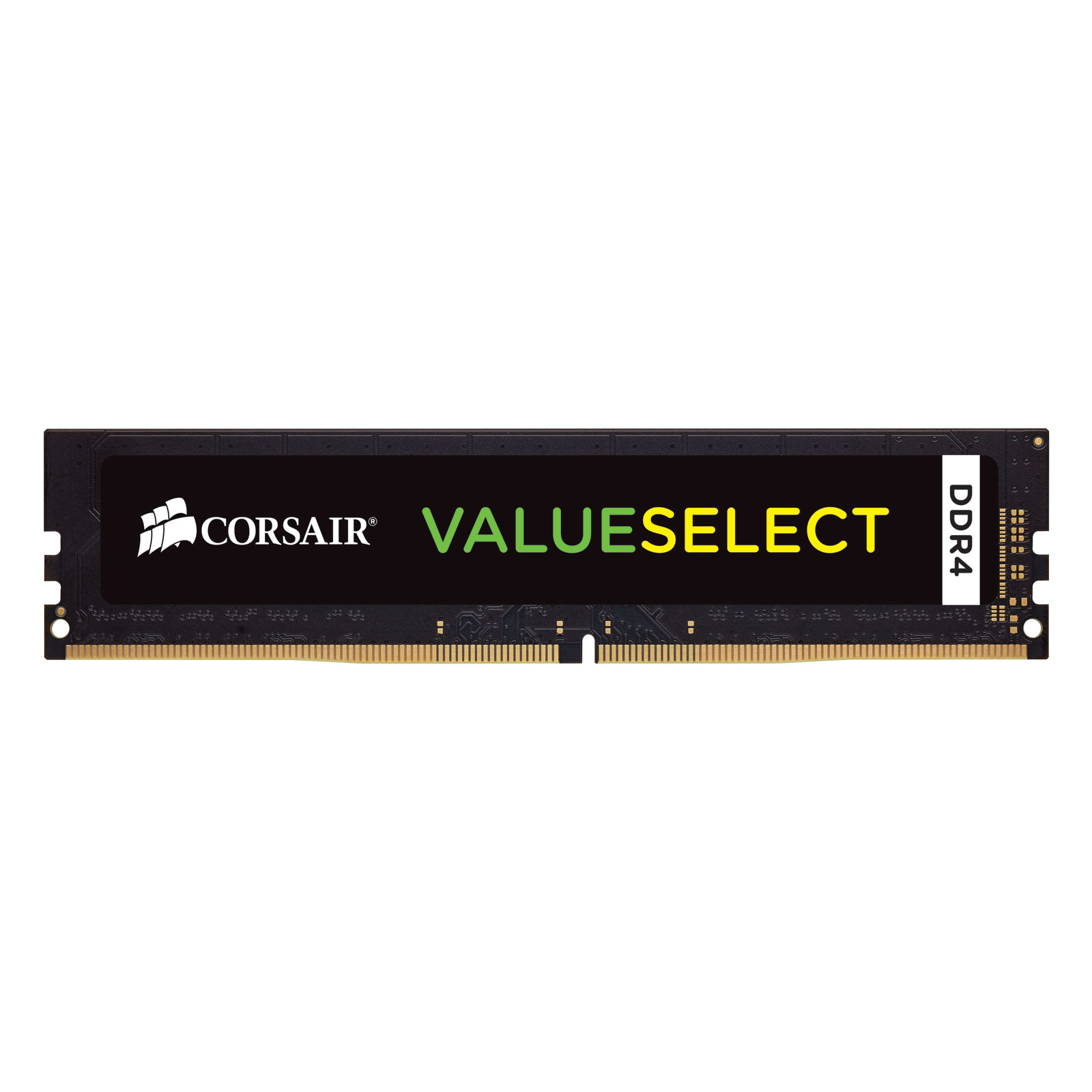 Mémoire PC Corsair ValueSelect 16 Go DDR4 2133 MHz CL15  RAM DDR4 PC4-17000 - CMV16GX4M1A2133C15 (garantie à vie par Corsair)